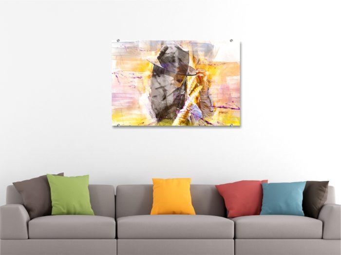 Декорация за стена - стъклена картина gp026
