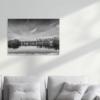 Декорация за стена - принт върху канава mh725 black&white